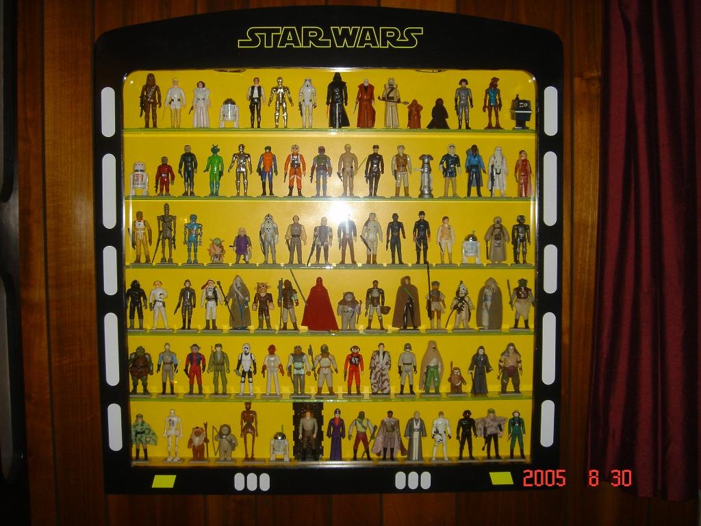 Star Wars Cabinet Display Cases And Stands Star Wars Forum Vintage Star Wars